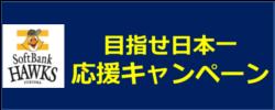 目指せ日本一 応援キャンペーン